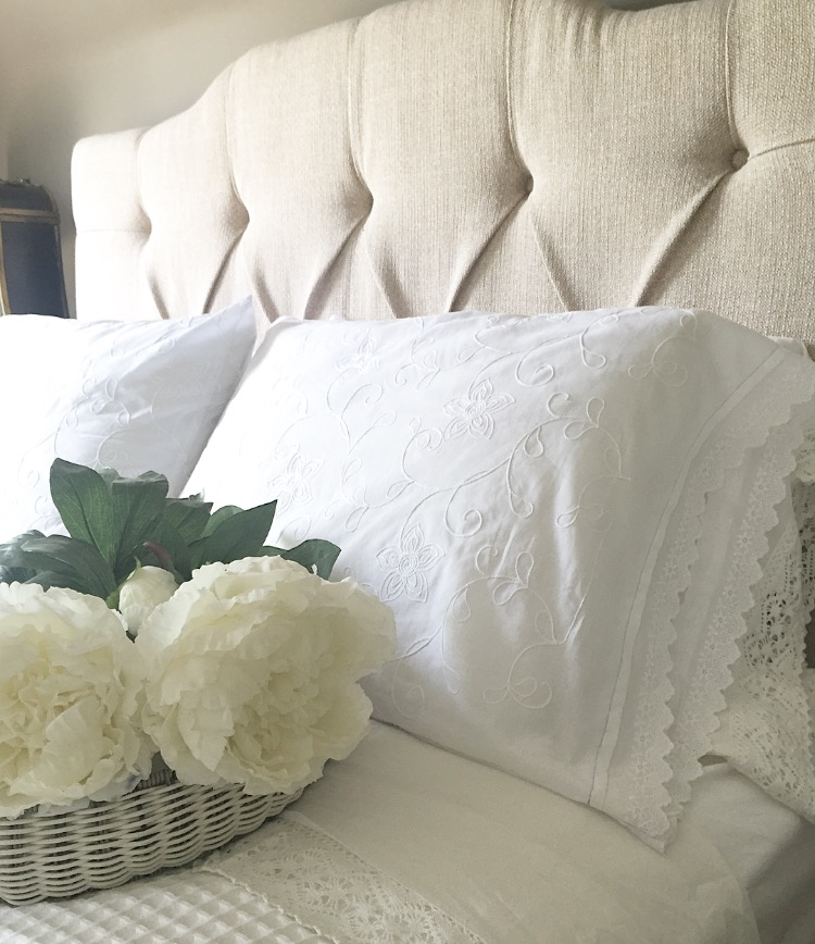 How to Make Your Own Vintage Pillow Cases