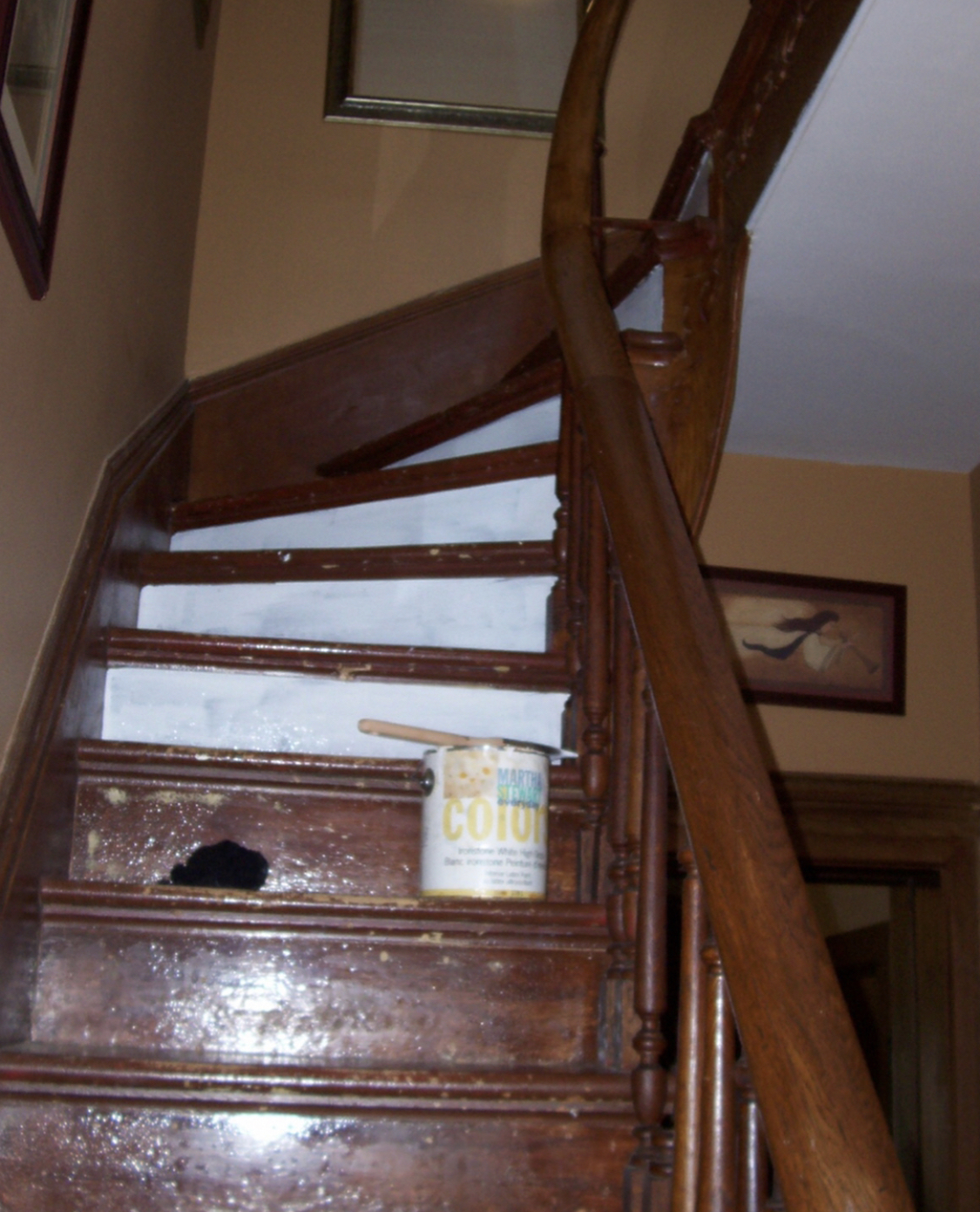 Painted Stairs The How To Designs By Karan